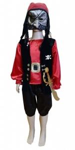 Костюм Разбойника. костюм пирата. Pirato kostiumas. Kostiumu nuoma vaikams Vilniuje - pasakunamai.lt
