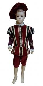 viduramžių karaliaus kostiumas. Princo kostiumas. Karnavalinių kostiumų nuoma Vilniuje - pasakunamai.lt