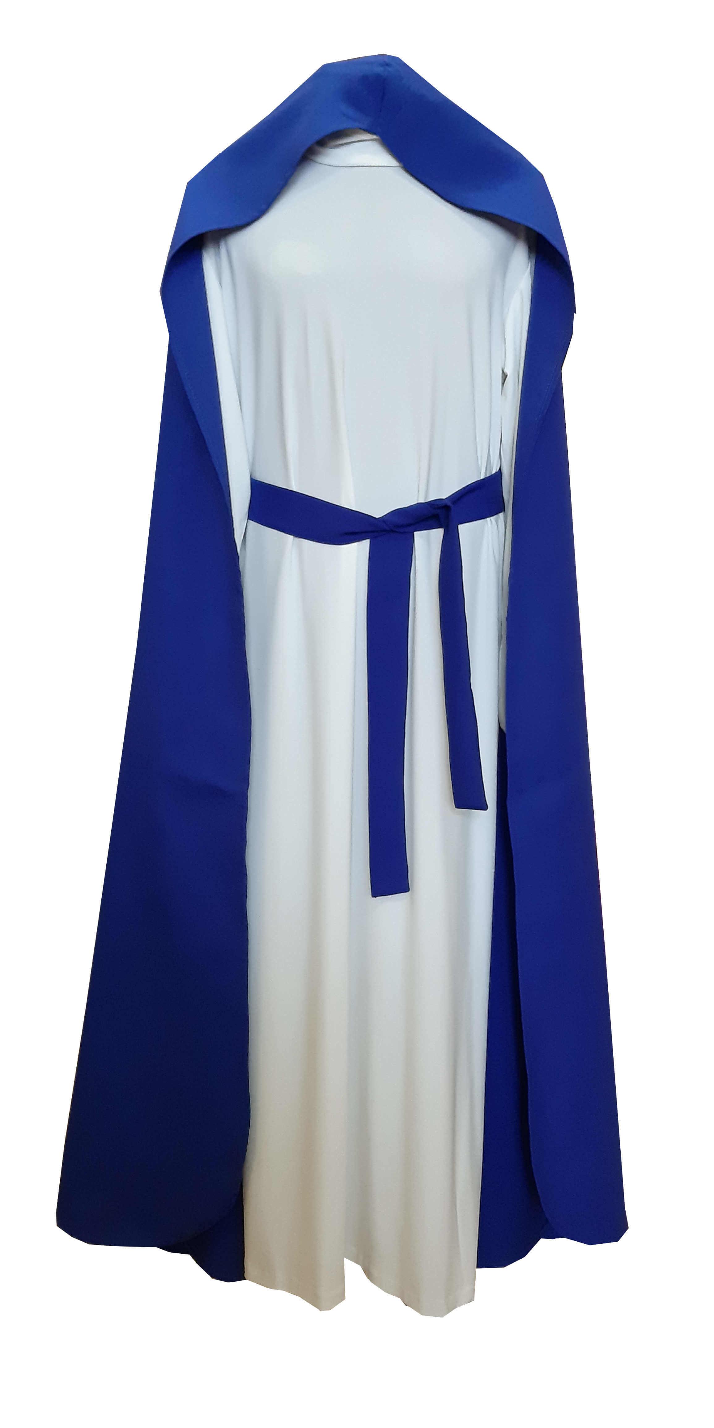 Švenčiausios Mergelės Marijos kostiumas. Karnavalinių kostiumų nuoma vaikams Vilniuje - pasakunamai.lt