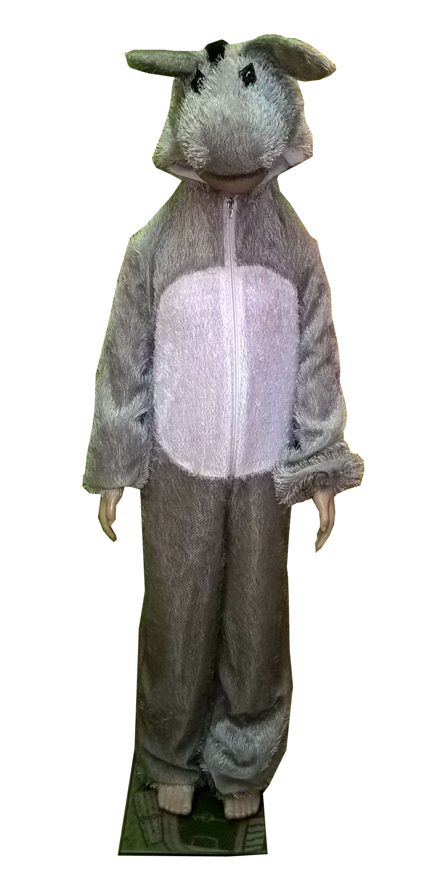 костюм осла. Asiliuko kostiumas. Gyvunų karnavaliniai kostiumai. Karnavaliniu kostiumu nuoma vaikams Vilniuje - pasakunamai.lt