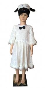 костюм баращки. Avelės kostiumas. avies kostiumas. Gyvunų karnavaliniai kostiumai. Karnavaliniu kostiumu nuoma vaikams Vilniuje - pasakunamai.lt