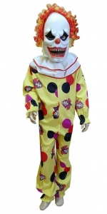 Blogasis klaunas. карнавальные костюмы для хэллоуина. Костюм страшного клоуна. костюм плахой клоун.Karnavaliniu kostiumu nuoma vaikams Vilniuje - pasakunamai.lt