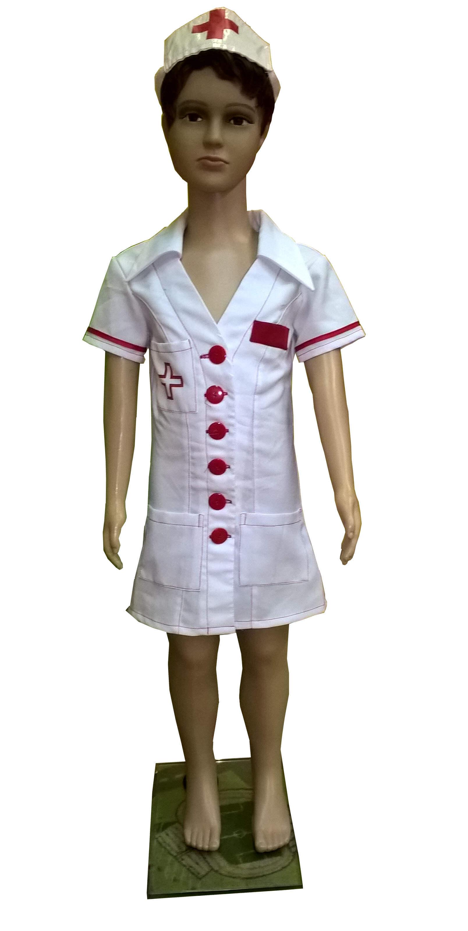 Daktarės kostiumas. Profesijų karnavaliniai kostiumai. Karnavaliniu kostiumu nuoma vaikams Vilniuje - pasakunamai.lt