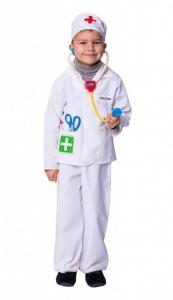 Daktaro kostiumas. Profesijų karnavaliniai kostiumai. Karnavaliniu kostiumu nuoma vaikams Vilniuje - pasakunamai.lt