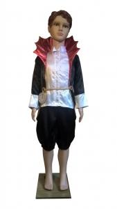 Drakulos kostiumas. Helovino karnavaliniai drabužiai. Karnavaliniu kostiumu nuoma vaikams Vilniuje - pasakunamai.lt