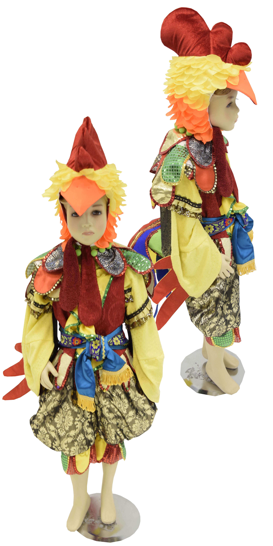 костюм петухa. детские костюмы. костюм птицы. Gaidžio prabangus kostiumas.  Karnavalinių kostiumų nuoma Vilniuje - pasakunamai.lt