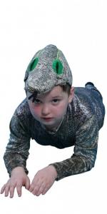 костюм змей. Gyvatės kostiumas. Gyvunų karnavaliniai kostiumai. Karnavaliniu kostiumu nuoma vaikams Vilniuje - pasakunamai.lt