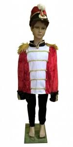 Alavinio kareivėlio kostiumas. Spragtukas, husaras. Princo kostiumas. Karnavalinių kostiumų nuoma Vilniuje - pasakunamai.lt