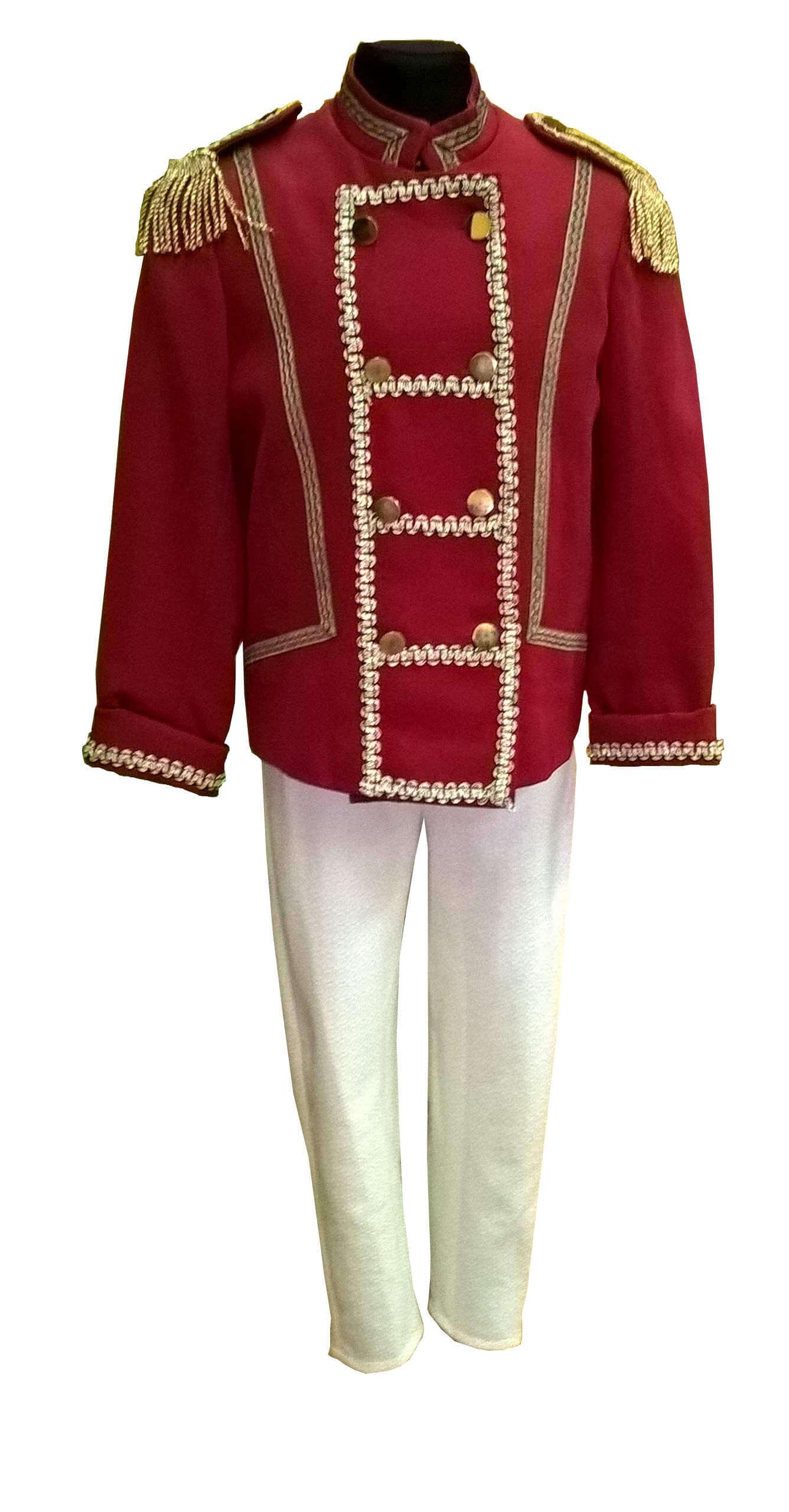 Kareivėlio kostiumas. Princo kostiumas. Alavinio kareivėlio kostiumas. spragtukas. Karnavalinių kostiumų nuoma Vilniuje - pasakunamai.lt