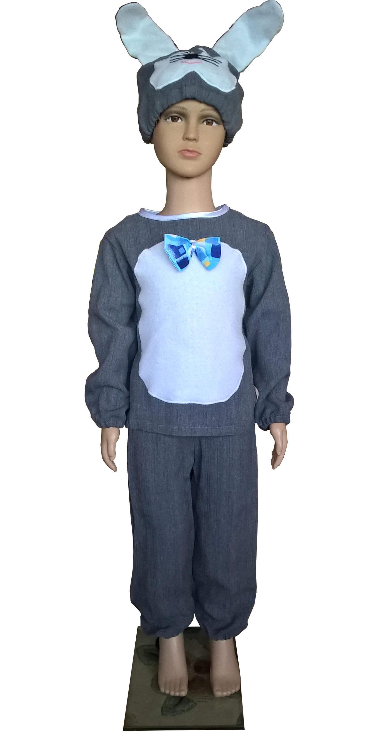 костюм зайчика. Kiškučio kostiumas. Gyvunų karnavaliniai kostiumai. Karnavaliniu kostiumu nuoma vaikams Vilniuje - pasakunamai.lt