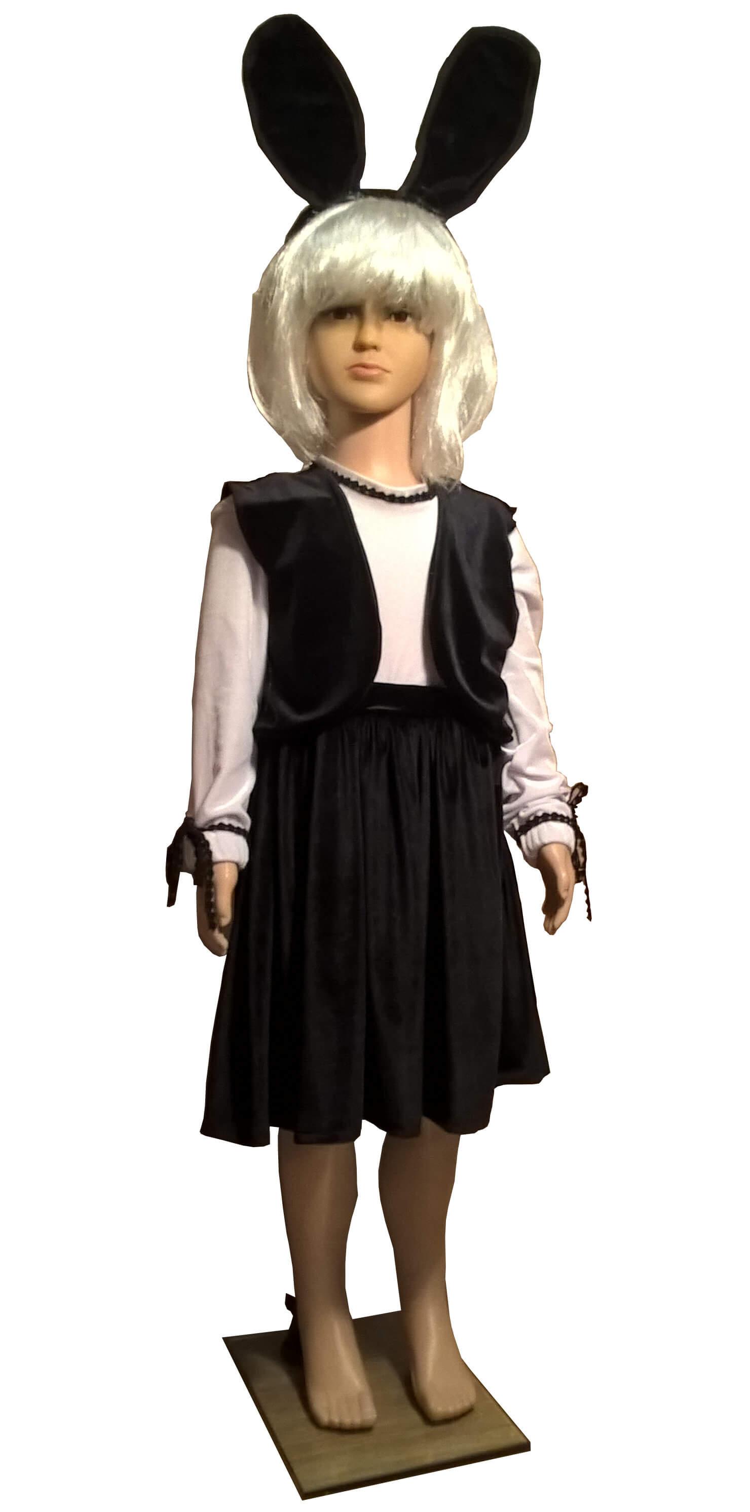 костюм зайчика. kostiumas. Gyvunų karnavaliniai kostiumai. Karnavaliniu kostiumu nuoma vaikams Vilniuje - pasakunamai.lt