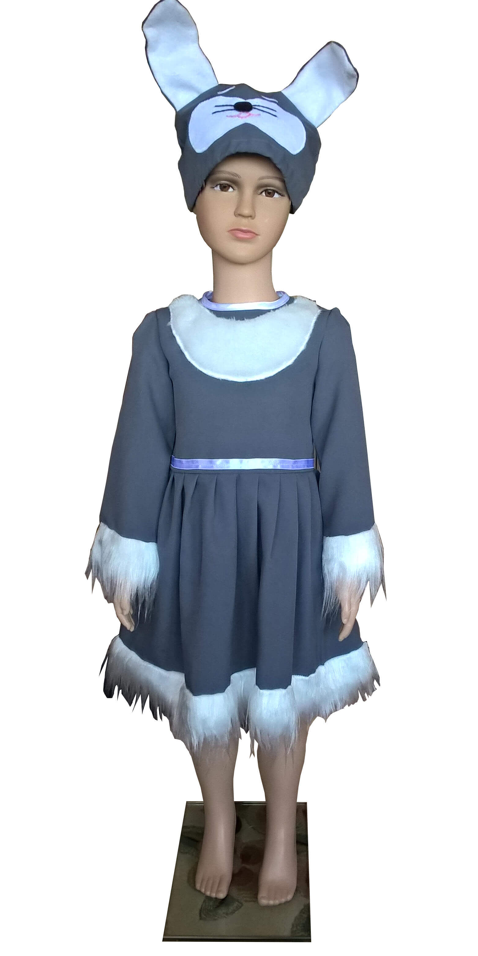 Kiškutės kostiumas. Gyvunų karnavaliniai kostiumai. Karnavaliniu kostiumu nuoma vaikams Vilniuje - pasakunamai.lt