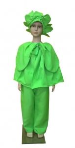 костюм капусta. Kopūsto kostiumas. Kopūstas. Karnavaliniu kostiumu nuoma vaikams Vilniuje - pasakunamai.lt