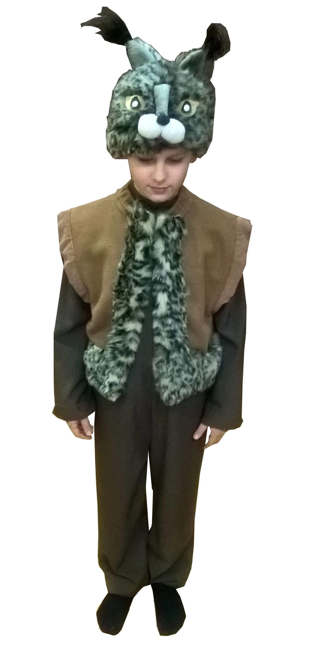 костюм рыси. Lūšies kostiumas. Gyvunų karnavaliniai kostiumai. Karnavaliniu kostiumu nuoma vaikams Vilniuje - pasakunamai.lt