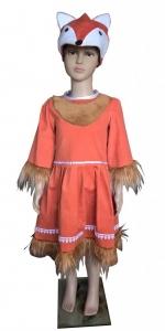 костюм лисы. Lapės kostiumas. Gyvunų karnavaliniai kostiumai. Karnavaliniu kostiumu nuoma vaikams Vilniuje - pasakunamai.lt