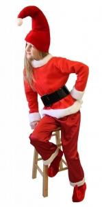 Nikštuko kostiumas. Kalėdų karnavaliniai kostiumai. Karnavalinių kostiumų nuoma vaikams Vilniuje - pasakunamai.lt