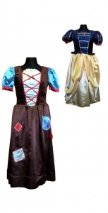 костюм золушки. Pelenės suknelė. Disney pelenės suknelė. Karnavalinių kostiumų nuoma Vilniuje - pasakunamai.lt