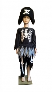 Piratės kostiumas. Skeleto kostiumas. Giltinės kostiumas. карнавальные костюмы для хэллоуина. кастюм смерт. КАРНАВАЛЬНЫЙ КОСТЮМ ПРИЗРАКА СМЕРТИ.  Karnavaliniu kostiumu nuoma vaikams Vilniuje - pasakunamai.lt