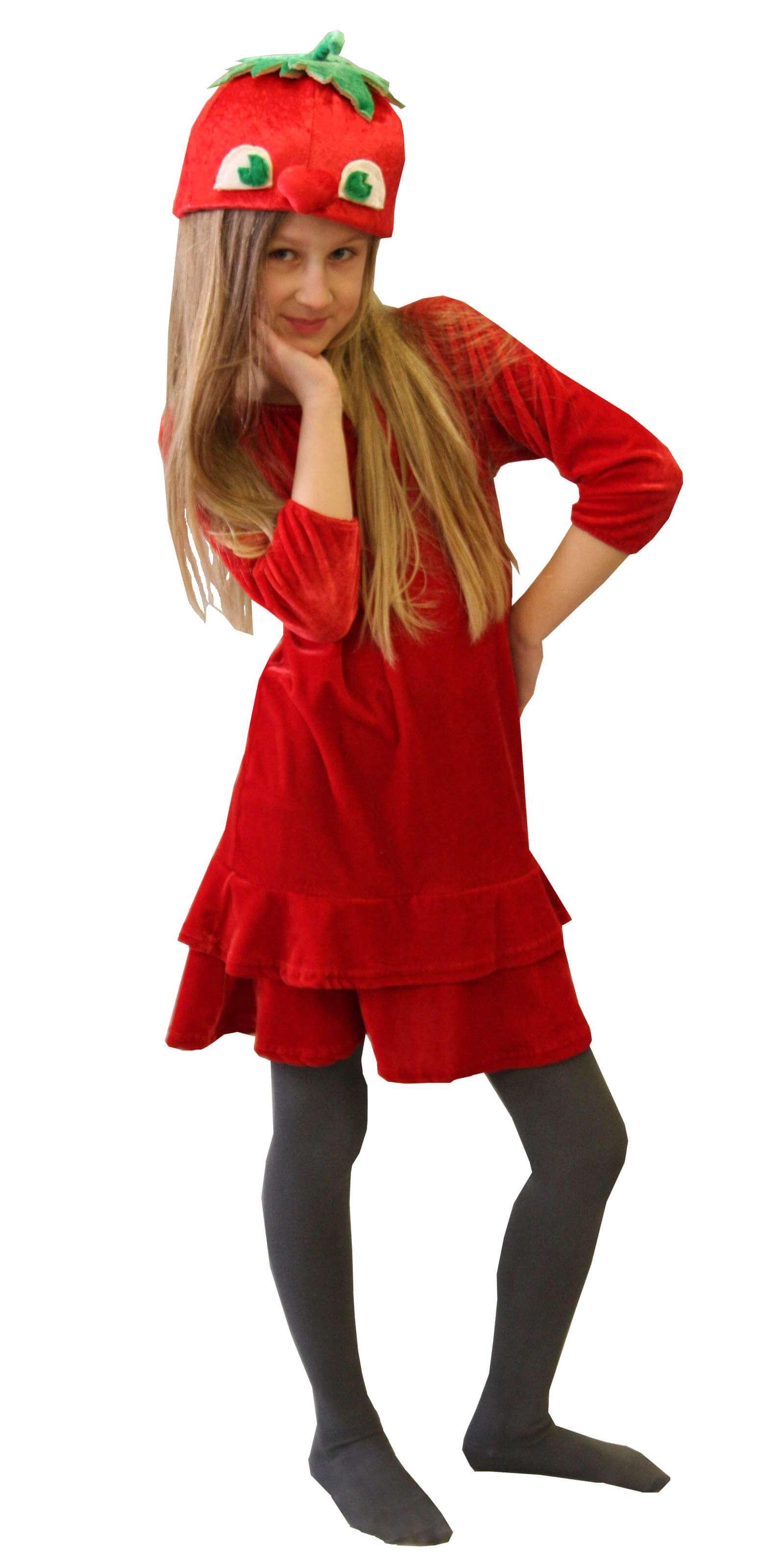 костюм Помидора. Pomidoro kostiumas. Karnavaliniu kostiumu nuoma vaikams Vilniuje - pasakunamai.lt