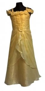 Платье принцессы Беллы. Princesės Belės suknelė. Karnavalinių kostiumų nuoma Vilniuje - pasakunamai.lt