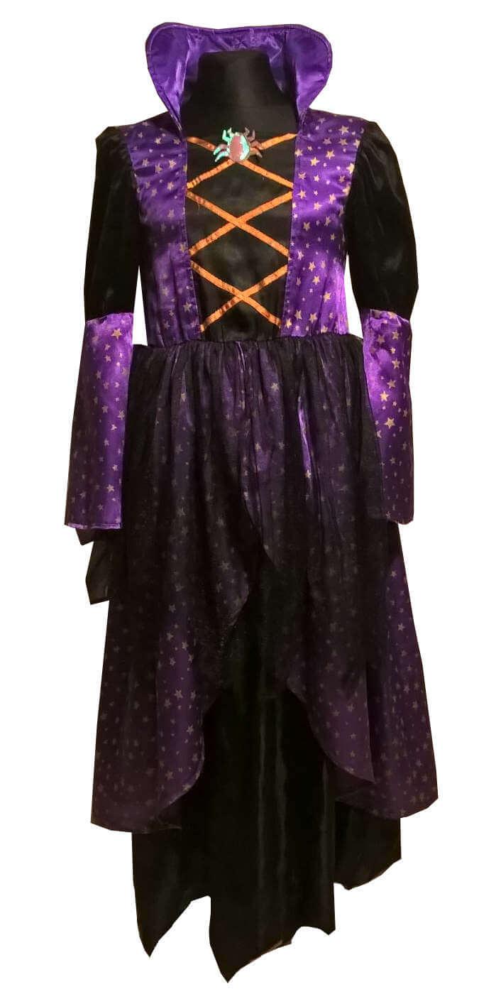 Raganos kostiumas. Helovino karnavaliniai drabužiai. Karnavaliniu kostiumu nuoma vaikams Vilniuje - pasakunamai.lt