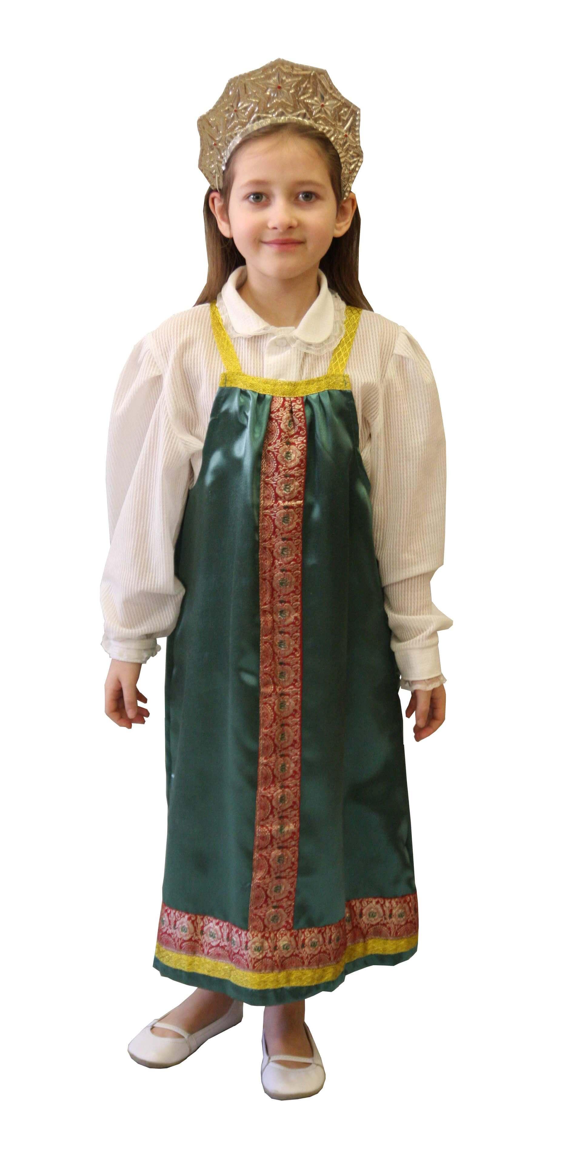 Rusaitės kostiumas. Tautų karnavaliniai kostiumai. Karnavaliniu kostiumu nuoma vaikams Vilniuje - pasakunamai.lt