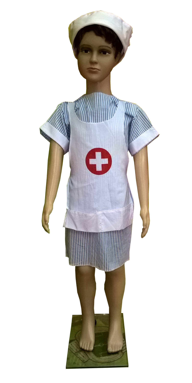 Sesutės kostiumas. Profesijų karnavaliniai kostiumai. Karnavaliniu kostiumu nuoma vaikams Vilniuje - pasakunamai.lt