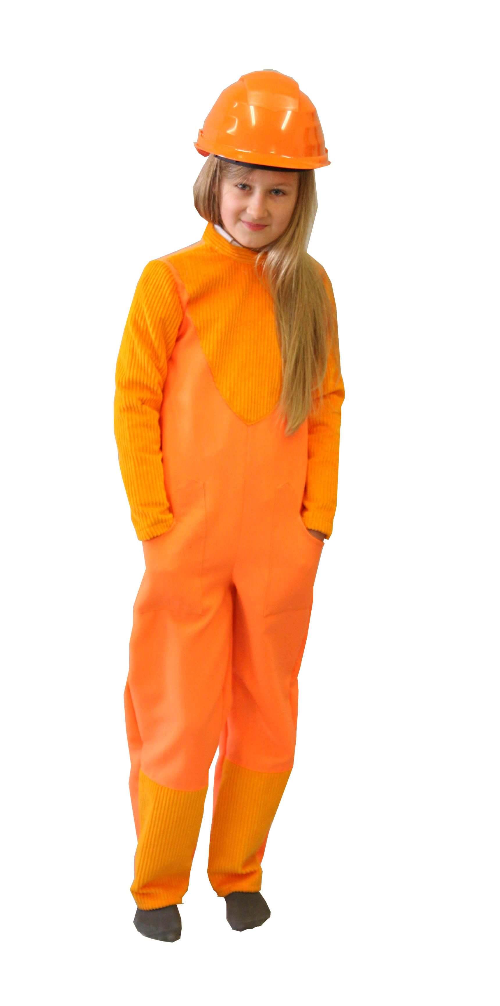 Statybininko, darbininko kostiumas. Profesijų karnavaliniai kostiumai. Karnavaliniu kostiumu nuoma vaikams Vilniuje - pasakunamai.lt