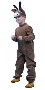 костюм касули. Stirniuko kostiumas. Gyvunų karnavaliniai kostiumai. Karnavaliniu kostiumu nuoma vaikams Vilniuje - pasakunamai.lt