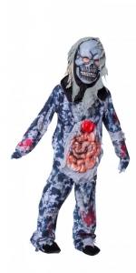 Zombio kostiumas. Helovino karnavaliniai drabužiai. Karnavaliniu kostiumu nuoma vaikams Vilniuje - pasakunamai.lt