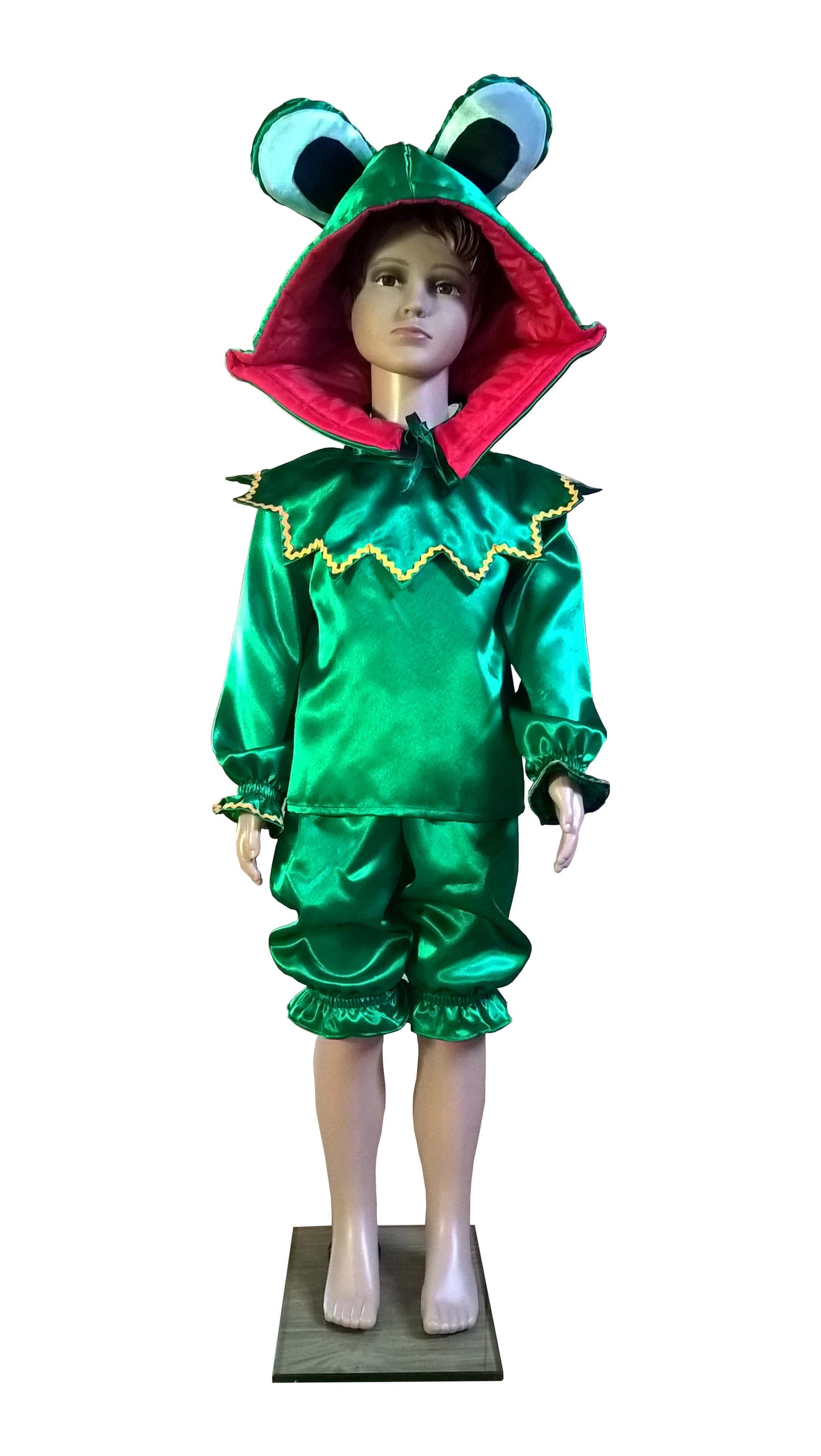 костюм лягушки. Varlės kostiumas. Gyvunų karnavaliniai kostiumai. Karnavaliniu kostiumu nuoma vaikams Vilniuje - pasakunamai.lt
