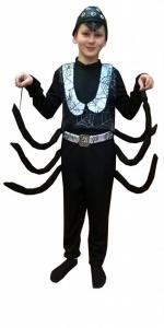 прокат детских карнавальных костюмов. костюм паука. Voro kostiumas. Karnavaliniai kostiumai vaikams Vilniuje - pasakunamai.lt