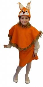 костюм белки. Voveraitės kostiumas. Gyvunų karnavaliniai kostiumai. Karnavaliniu kostiumu nuoma vaikams Vilniuje - pasakunamai.lt