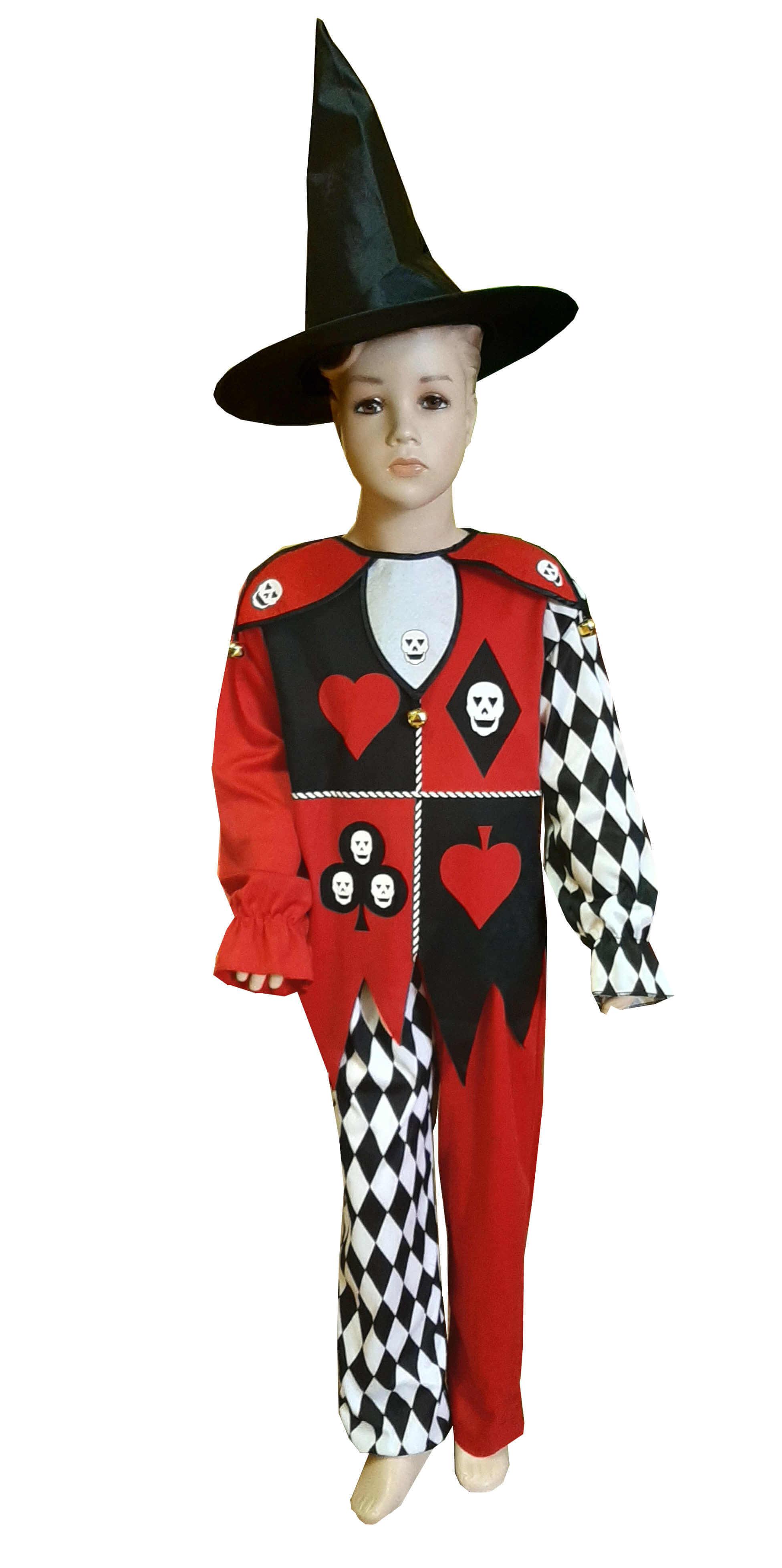 Džiokerio kostiumas. Kostiumai helovinui. Karnavaliniu kostiumu nuoma vaikams Vilniuje - pasakunamai.lt