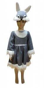 костюм зайчика. Kiškutės kostiumas. Gyvunų karnavaliniai kostiumai. Karnavaliniu kostiumu nuoma vaikams Vilniuje - pasakunamai.lt