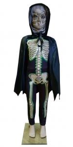 Helovino kostiumas. Skeleto kostiumas. Giltinės kostiumas. карнавальные костюмы для хэллоуина. кастюм смерт. КАРНАВАЛЬНЫЙ КОСТЮМ ПРИЗРАКА СМЕРТИ.  Karnavaliniu kostiumu nuoma vaikams Vilniuje - pasakunamai.lt