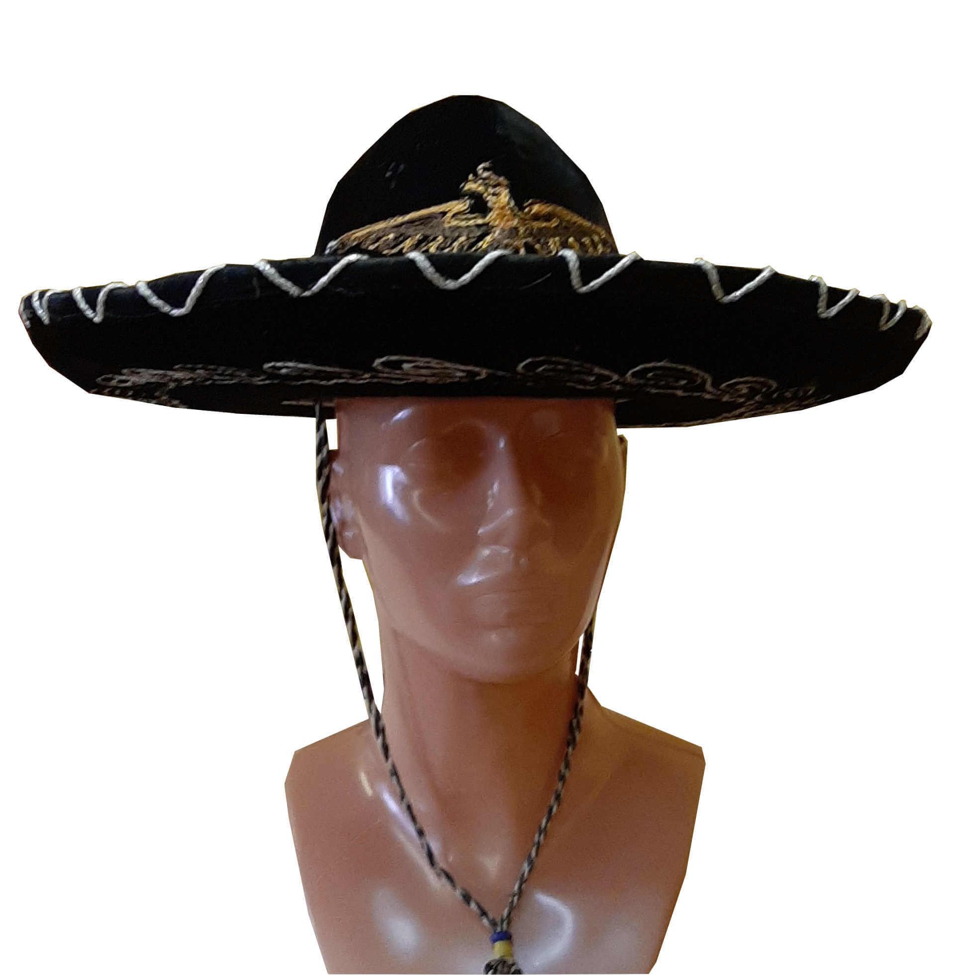 Meksikiečio- sombrero- skrybėlė. Karnavaliniu kostiumu nuoma Vilniuje - pasakunamai.lt