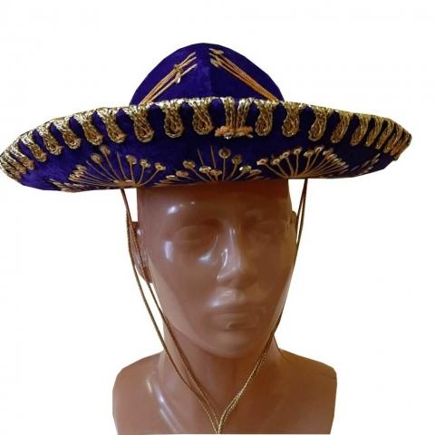 Meksikiečio skrybėlė. Karnavaliniu kostiumu nuoma Vilniuje - pasakunamai.lt