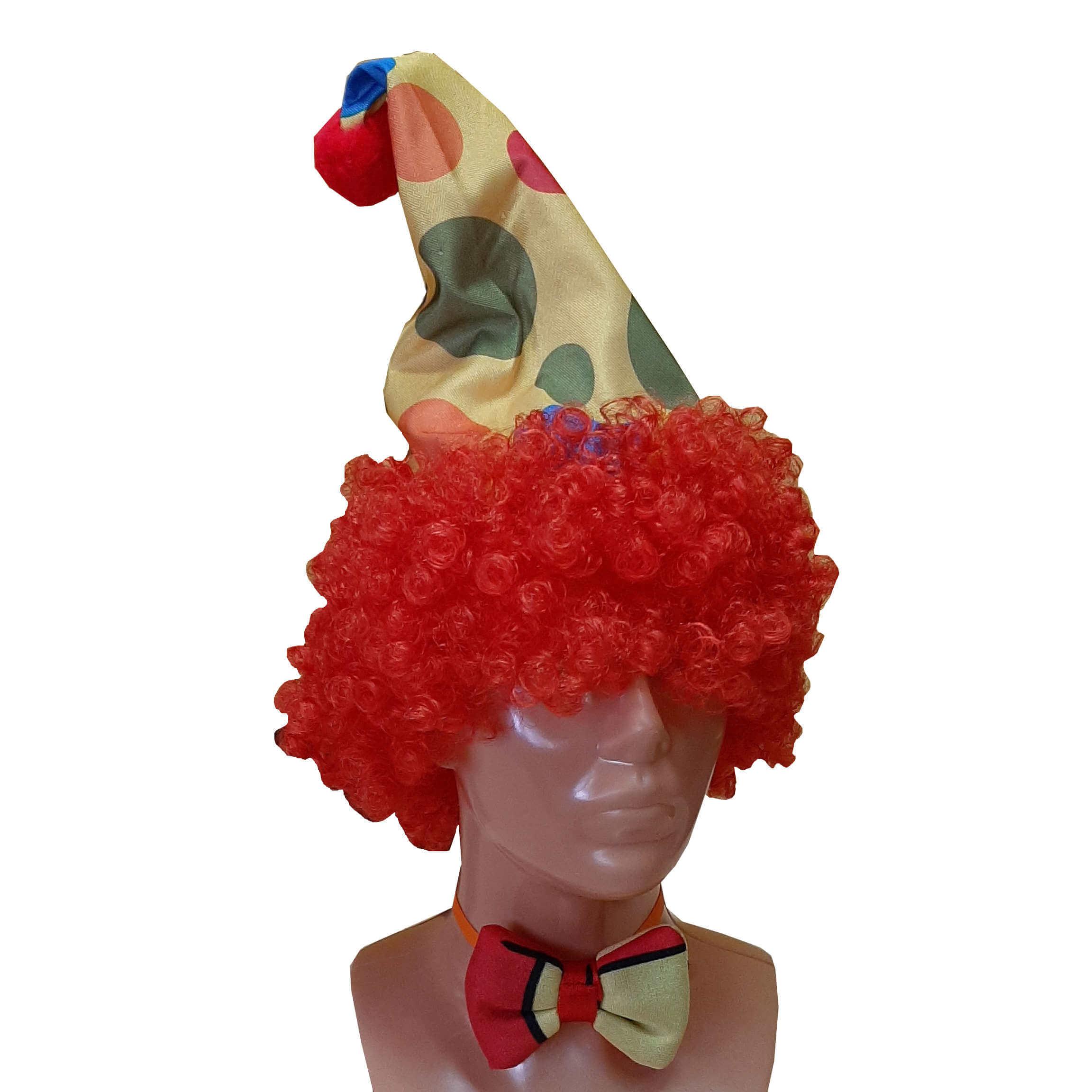 Klauno kepurė. Karnavaliniu kostiumu nuoma Vilniuje - pasakunamai.lt