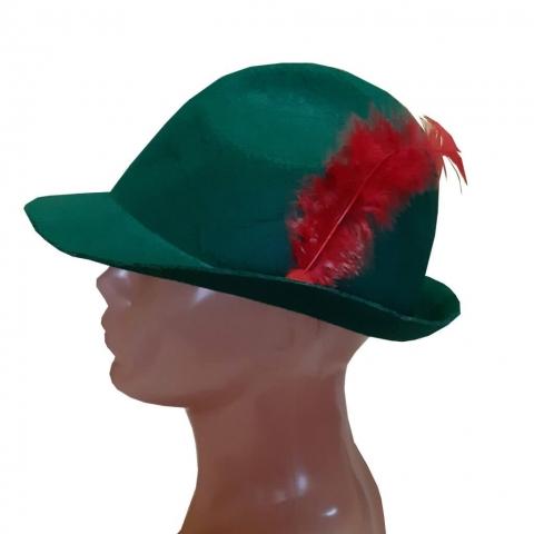bravaro ke;purė. Robino hudo kepurė.  Karnavalinių kostiumų nuoma Vilniuje - pasakunamai.lt